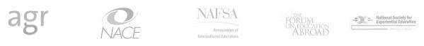 NACE AGR NAFSA NSEE Logos